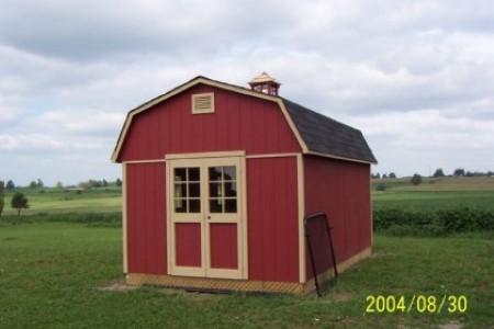 Backyard Sheds in Ontario - The Gambrella Shed